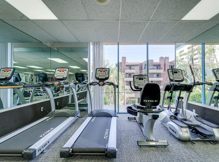 Treadmills  at La Vista Terrace, California, 90046