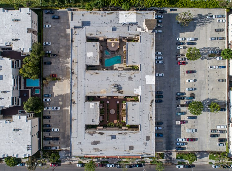 Top View at Park Merridy, Northridge, CA, 91325