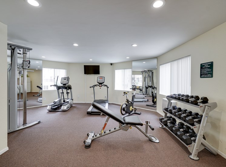 24-Hour Fitness Center at Park Merridy, Northridge, CA, 91325