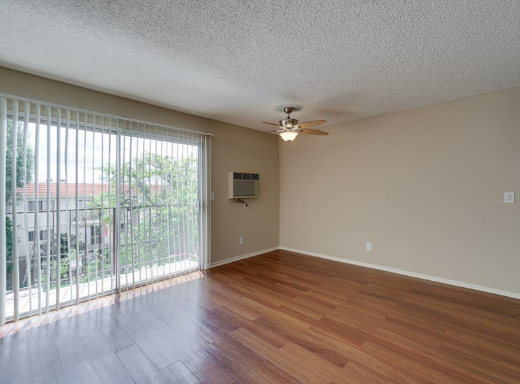 Living Room With Attached Balcony at Park Merridy, Northridge