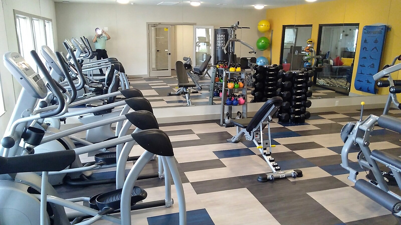 Fitness center, in Prelude at the Park Apartment Community, NV
