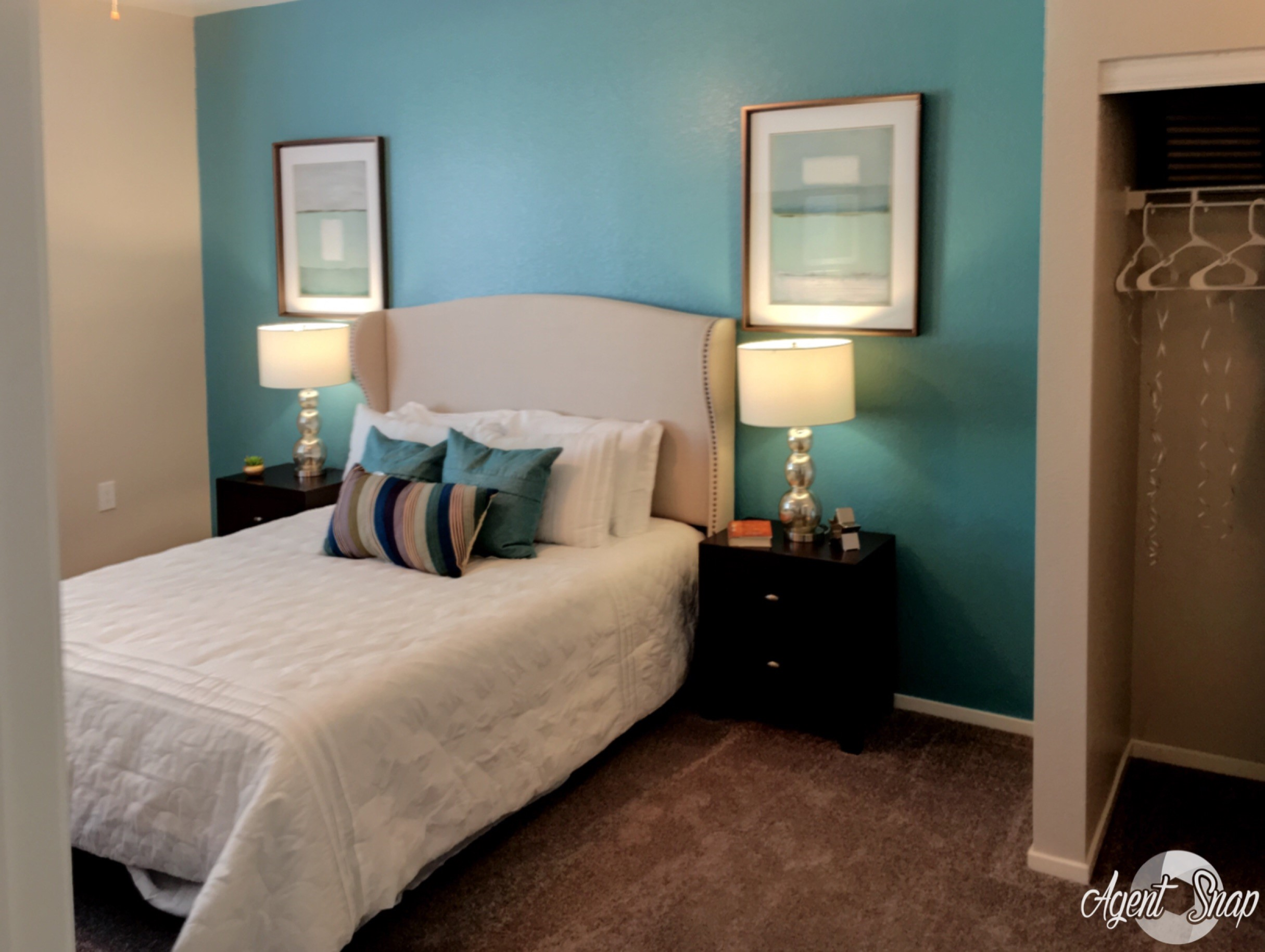 Model Bedroom, at Prelude at the Park Apartment Homes, 89015, Nevada