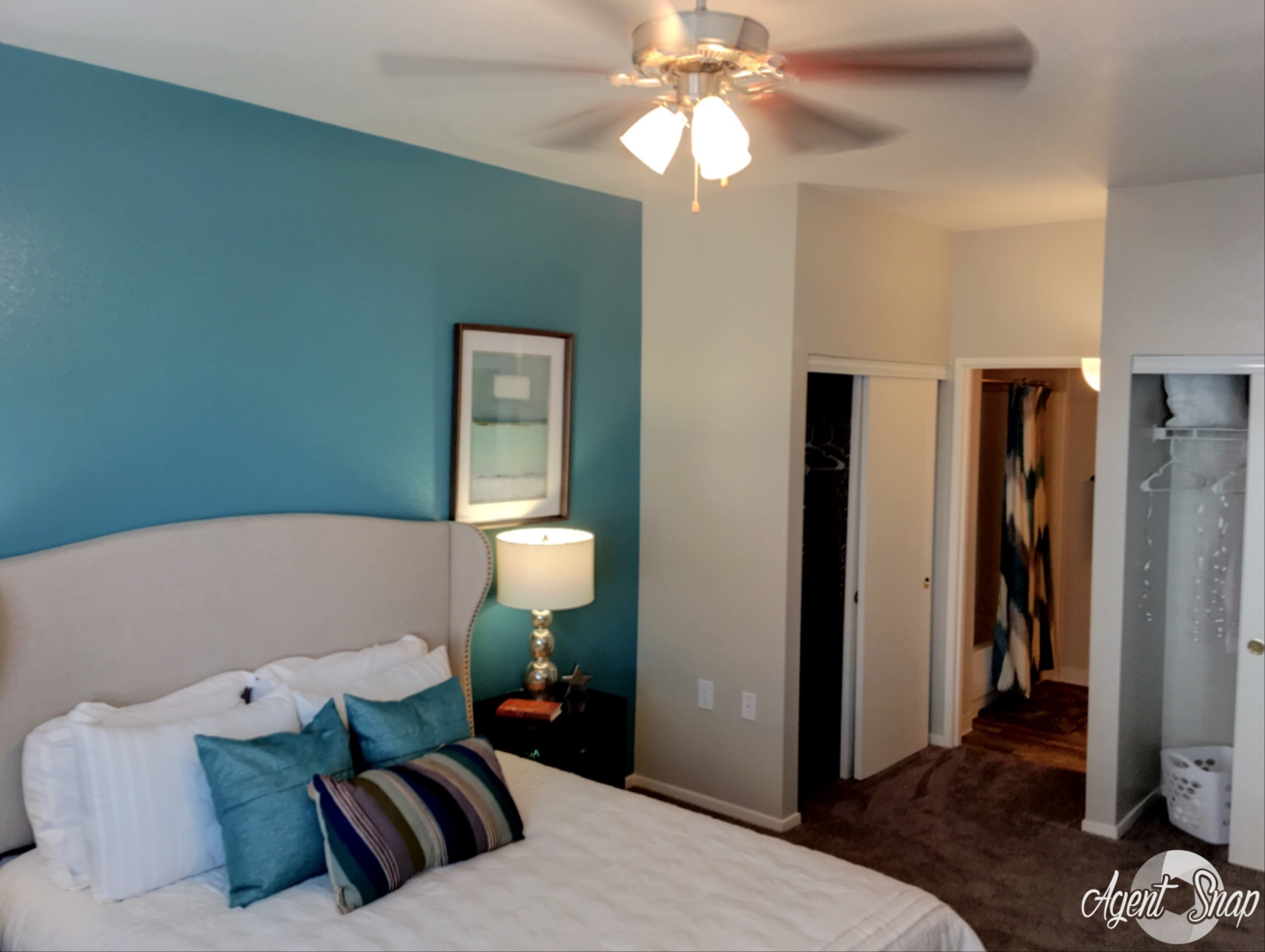 Bedroom with Extra Storage, Prelude at the Park, Apartment Homes on East Lake Mead Pkwy