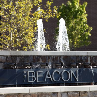 The Beacon at Waugh Chapel Fountain