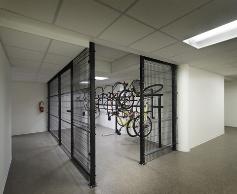 Complimentary Indoor Bike Storage