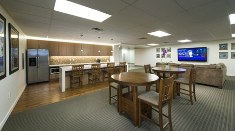 Resident Lounge and Clubroom