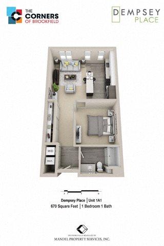 1A1 Floor Plan 1