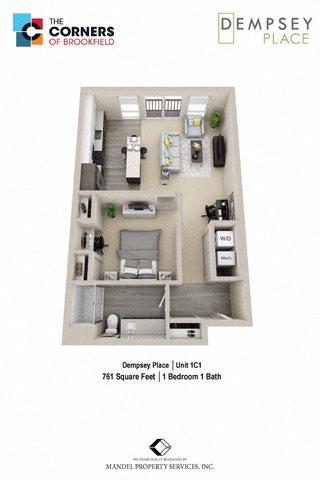 1C1 Floor Plan 4
