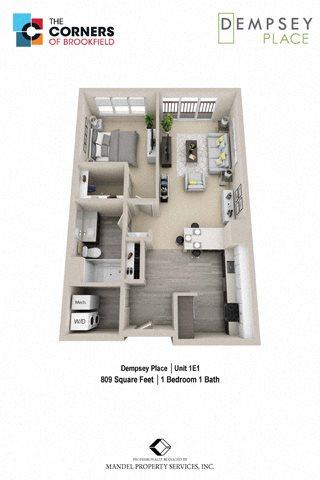1E1 Floor Plan 8