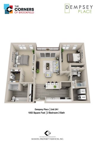2A1 Floor Plan 11