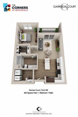 1B2 Floor Plan 9
