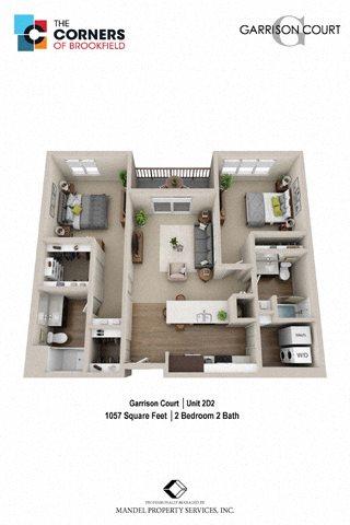 2D2X Floor Plan 20