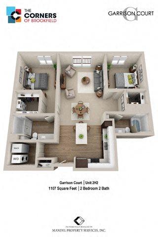 2H2 Floor Plan 24