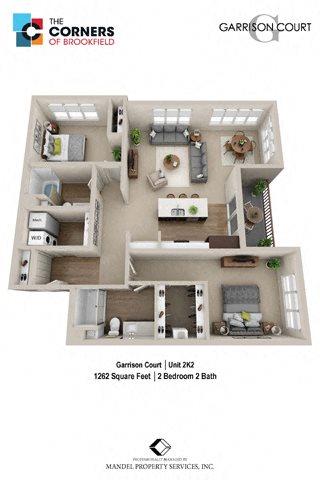 2K2 Floor Plan 26