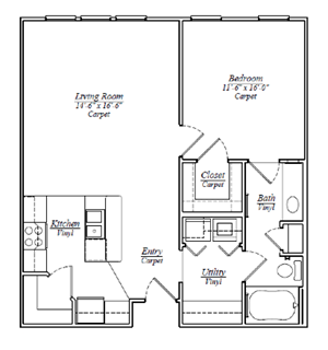 A4 One Bedroom