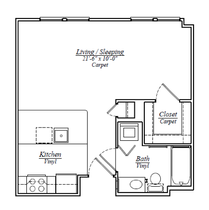 Fielder Square Apartments Floor Plans