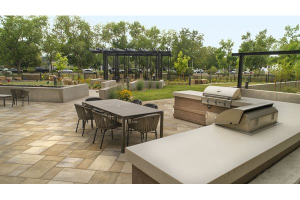 Bbq Grills at Cycle Apartments, Ft. Collins, CO, 80525