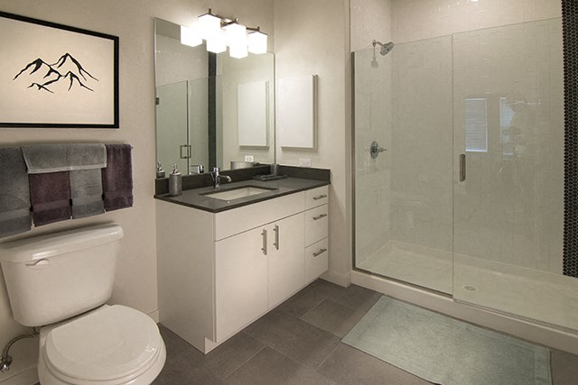 Spacious Bathrooms at Cycle Apartments Ft. Collins, CO  80525