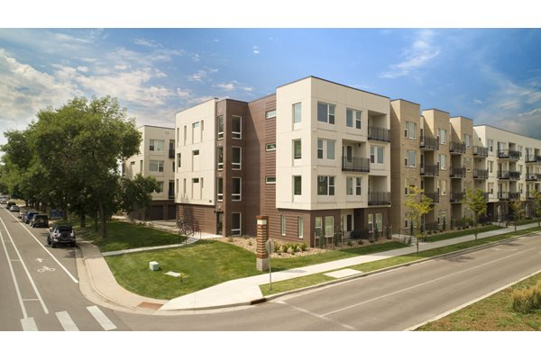 Outdoor Spaces at Cycle Apartments, Ft. Collins, CO