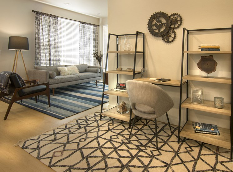 Modern and Bright Interiors at Cycle Apartments, Ft. Collins