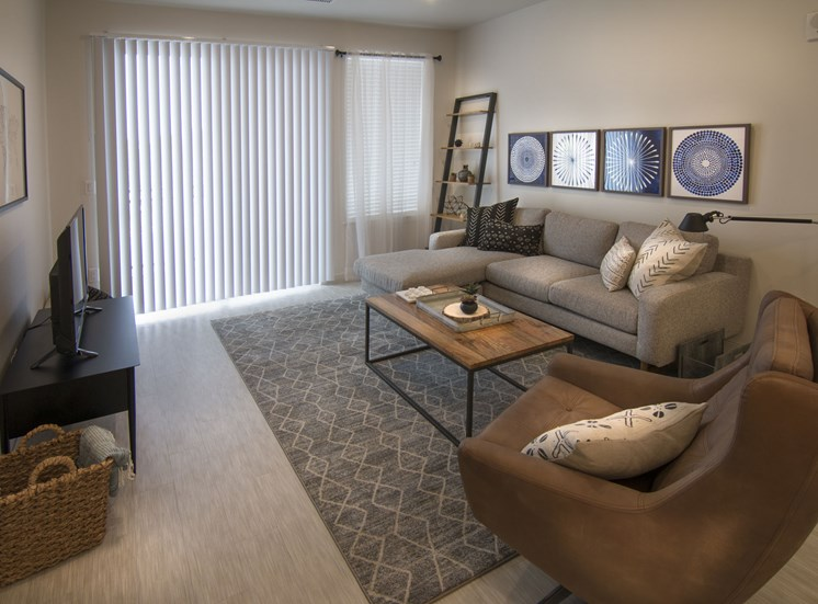 Modern Studio, One and Two Bedroom Interiors at Cycle Apartments, Ft. Collins