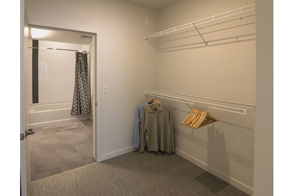 Closet at Cycle Apartments, Ft. Collins, CO