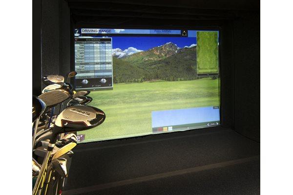 Golf Simulator at Cycle Apartments, Colorado, 80525