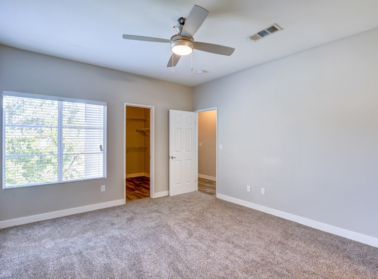 Walk-In Master Closets
