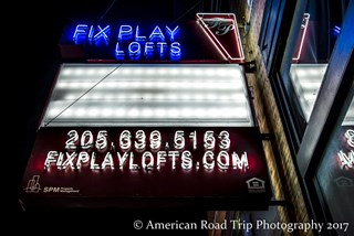 Fix Play Lofts in Birmingham, AL 35203 New Sign