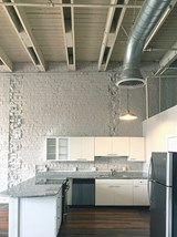 Kitchen in Fix Play Lofts in Birmingham, AL 35203