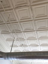 Beautiful tiled ceiling in Fix Play Lofts in Birmingham, AL 35203