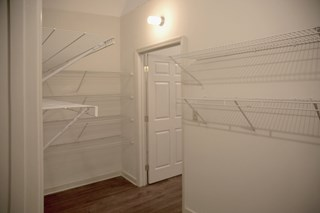 Walk-in Closet in Fix Play Lofts in Birmingham Alabama 35203
