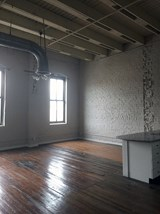 Large windows with natural light at Fix Play Lofts in Birmingham Alabama 35203