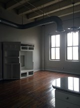 Open Floor plan in Fix Play Lofts in Birmingham Alabama 35203