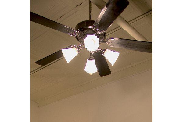 Ceiling Fan at Fix Play Lofts in Birmingham, AL 35203