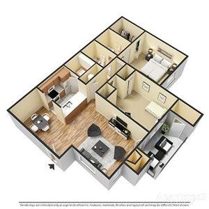 2 Bedrooms, 2 Bathrooms
