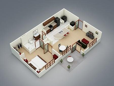 The Azalea Floor Plan 1