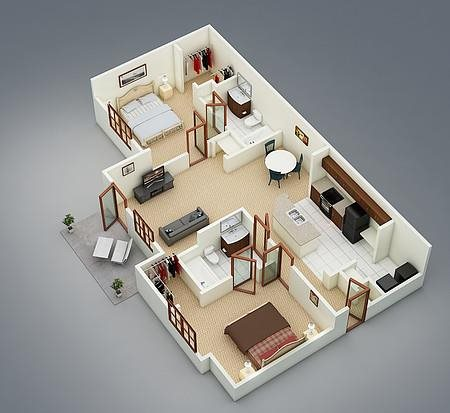 The Juniper Floor Plan 4