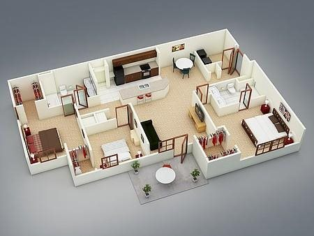 The Nandina Floor Plan 6