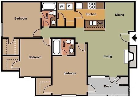 The Carlisle Floor Plan 4