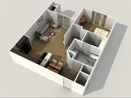 The Sanctuary Floor Plan 1