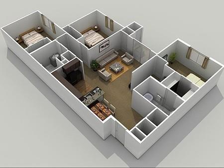 The Retreat Floor Plan 4