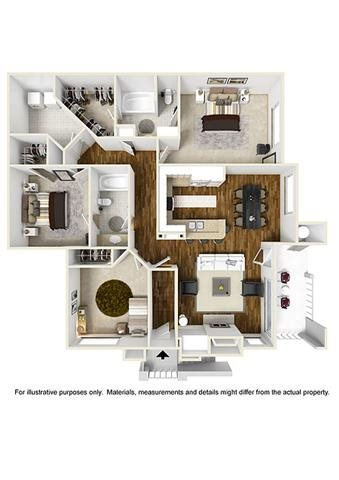 The Hickory Floor Plan 9