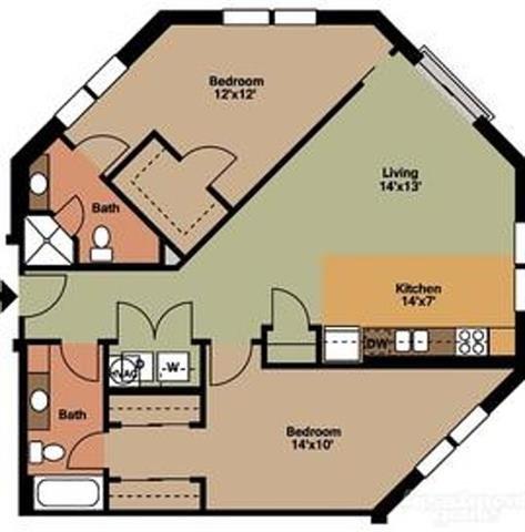 Floor Plans Of Vista Germantown In Nashville Tn
