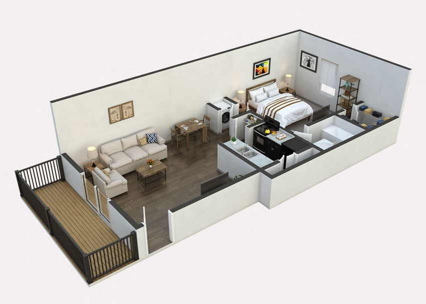 Carport Floor Plan