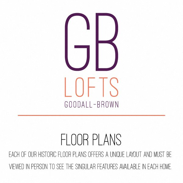 Goodall-Brown Lofts Apartments in Birmingham AL 35203 floor plan image 2