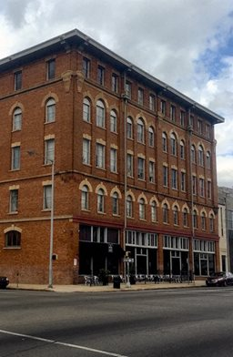 Outside view of Goodall-Brown Lofts Birmingham AL 35203