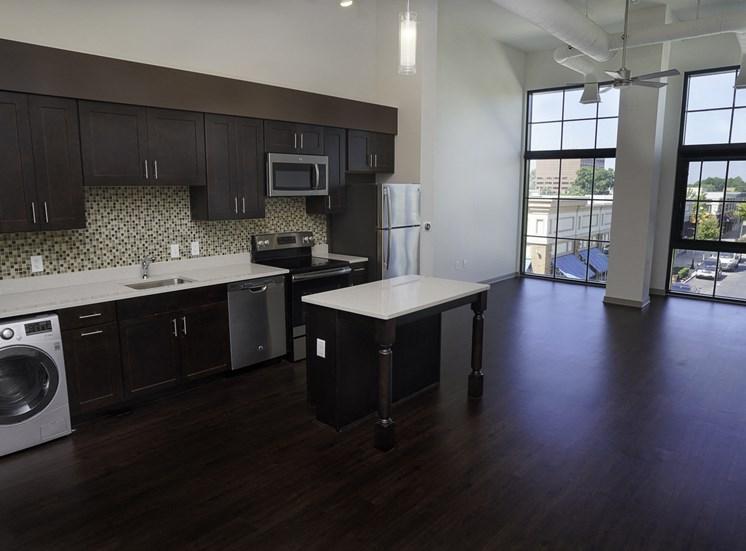 Axis Apartments in Hampton VA Kitchen