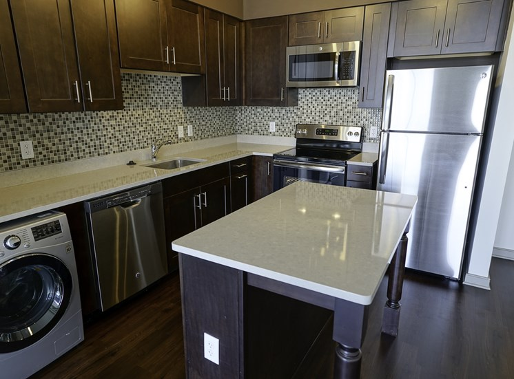 Axis Apartments in Hampton VA Kitchen