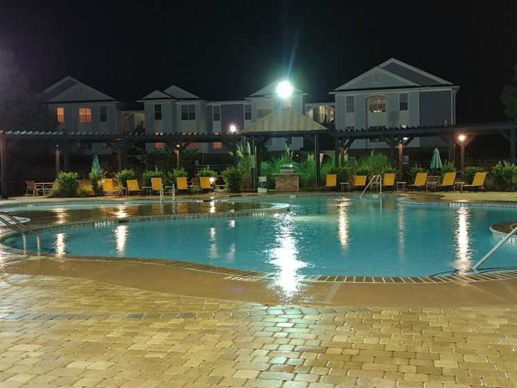 Independence Place pool in Hinesville GA